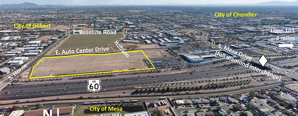 Metro East Valley Commerce Center-Aerial 2