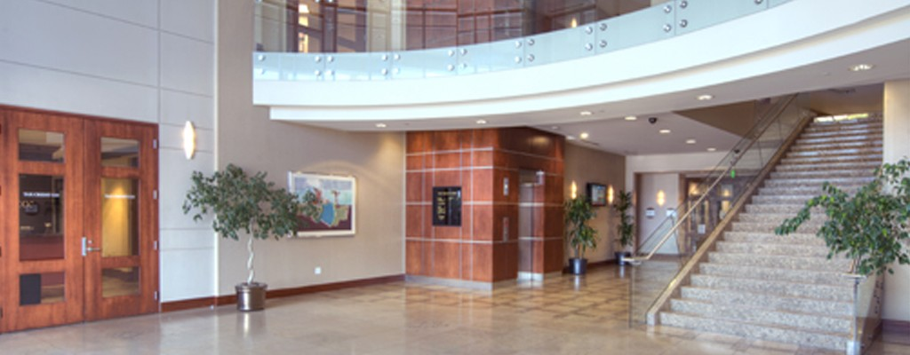 Mesa Corporate Center Lobby