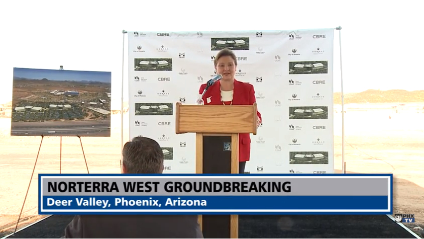Norterra West Groundbreaking August 2015