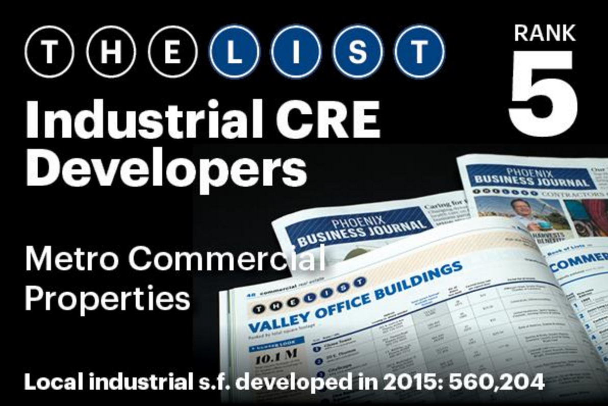 Top Industrial CRE Developers - Metro Commercial Properties